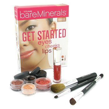 Bare EscentualsGet Started Eyes Cheeks Lips 8 Piece Collection - # Medium To Tan Complexions 8pcs