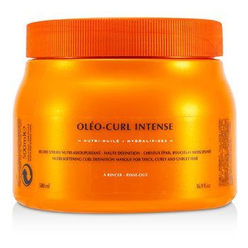 NutritiveNutritive Oleo-Curl Intense Masque (For Thick, Curly and Unruly Hair) 500ml/16.9oz