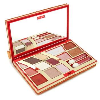 Pupa-Make Up Set: Diamond Pochette - ( Bronze ) #03
