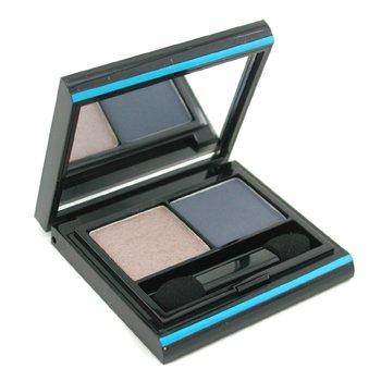 Elizabeth Arden Color Intrigue Sombra de Ojos D�o - # 04 Blue Smoke  3.4g/0.12oz