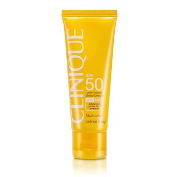 CliniqueSun SPF 50  Crema Rostro UVA/UVB 50ml/1.7oz