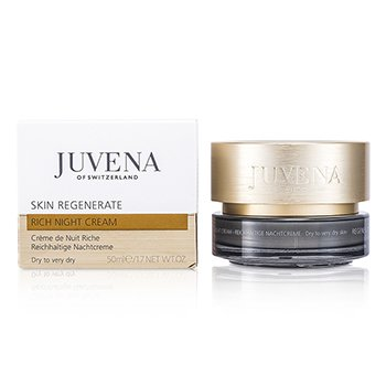 Juvena Regenerate & Restore Rich Night Cream - Very Dry to Dry Skin 50ml/1.7oz
