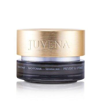 Juvena-Prevent & Optimize Night Cream - Sensitive Skin