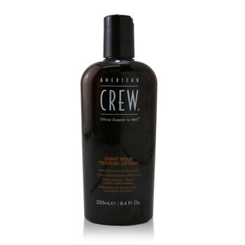 Men Light Hold Texture Lotion (Low Shine) American Crew Men Light Hold Texture Lotion (Low Shine) 250ml/8.45oz