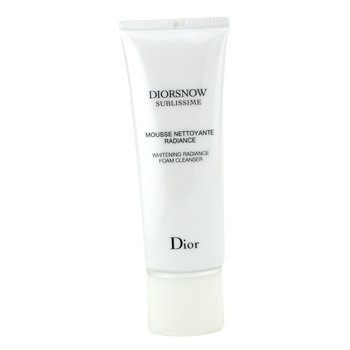 Christian Dior-DiorSnow Sublissime Whitening Radiance Foam Cleanser