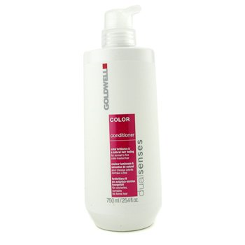 Goldwell Dual Senses Color Conditioner (For Normal to Fine Color-Treated Hair) 750ml/25.4oz
