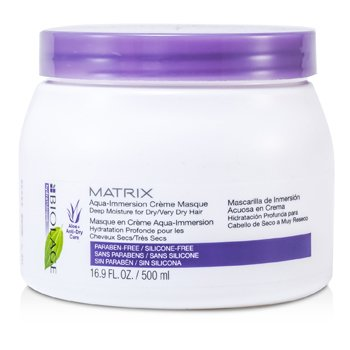 Matrix Biolage Hydratherapie Aqua-Immersion Creme Masque (Deep Moisture For Dry/ Very Dry Hair)  500ml/16.9oz