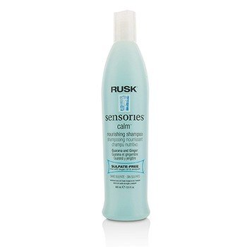 RuskSensories Calm Guarana and Ginger Nourishing Shampoo 400ml/13.5oz