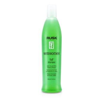 Rusk Sensories Full Green Tea and Alfalfa Bodifying Shampoo  400ml/13.5oz