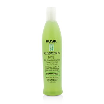 RuskSensories Purify Cucurbita and Tea Tree Oil Deep Cleansing Shampoo 400ml/13.5oz