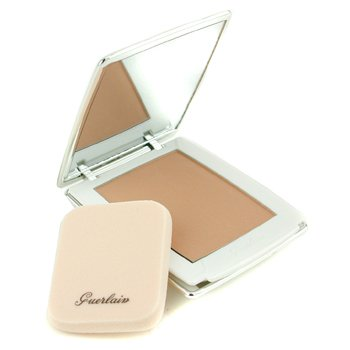 Guerlain-Parure Pearly White Compact Foundation SPF 35 - # 42 Ocre Satin White
