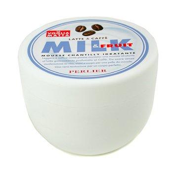 Perlier-Milk & Coffee Body Mousse Cream