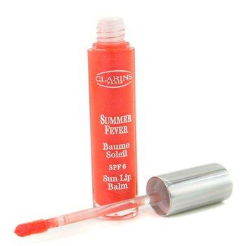 Clarins-Summer Fever Sun Lip Balm SPF 6 - #02 Orange Delight