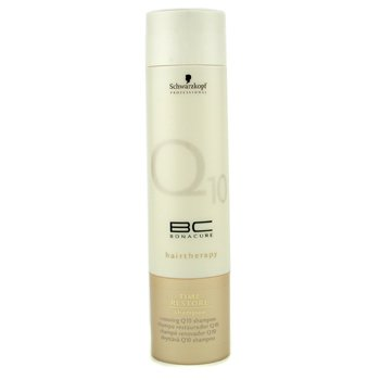 SchwarzkopfBC Time Resotre Q10 Shampoo 250ml/8.4oz