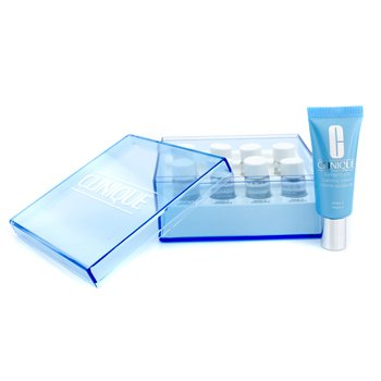 Clinique-Turnaround Radiance Peel Oily Once A Week Syatem