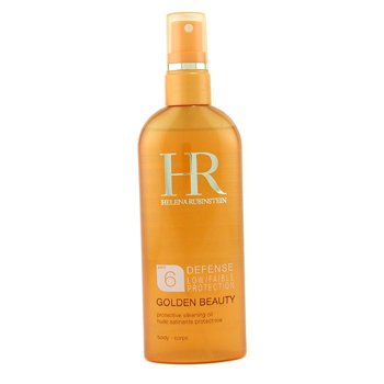 Helena Rubinstein-Golden Beauty Defense Low Protection Protective Silkening Oil Spray SPF 6 For Body