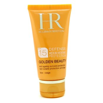 Helena Rubinstein-Golden Beauty Defense Anti-Ageing Suncare Protection SPF 15 For Face