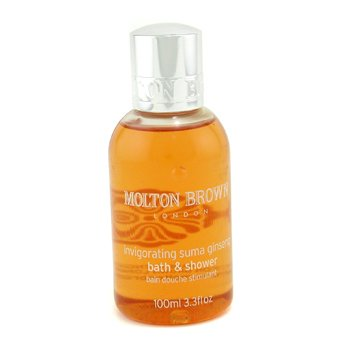 Molton Brown-Invigorating Suma Ginseng Bath & Shower Gel ( Travel Size )