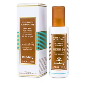 Sisley-Fluid Body Sun Cream SPF 30 UVA