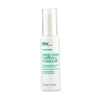 Bliss-Steep Clean Mattifying Moisturizer ( Oily Skin Types )
