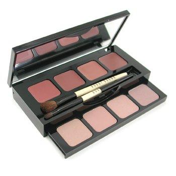 Bobbi Brown-Nude Lip & Eye Palette: 2x Eyeshadow + 2x Shimmer Wash Eyeshadow + 4x Lip Color