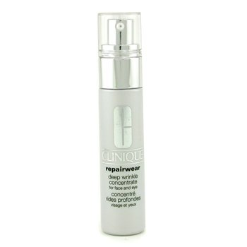 Clinique-Repairwear Deep Wrinkle Concentrate - For Face & Eye ( Unboxed )