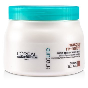 L'Oreal Professionnel Nature Serie – Re-Naitre Masque (For Extremely Sensitised Hair) 500ml/16.5oz