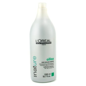 L'OrealProfessionnel Nature Serie - Oiliss Shampoo (For Dry, Unruly Hair) 1500ml/50.7oz