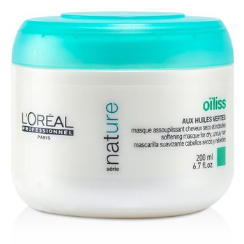 L'OrealProfessionnel Nature Serie - Oiliss Masque (For Dry, Unruly Hair) 200ml/6.7oz