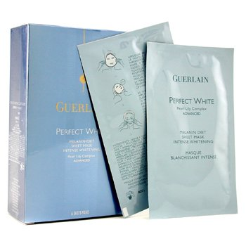 Guerlain-Perfect White Melanin Diet Sheet Mask With Pearl Lily Complex Advanced