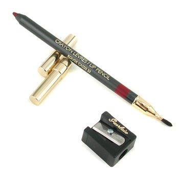 Guerlain-Lip Pencil with Brush & Sharpener - # 23 Rouge Cassis
