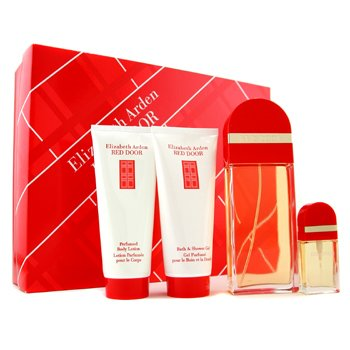 Elizabeth Arden-Red Door Coffret: Eau De Toilette Spray 100ml+ Eau De Toilette Spray 10ml+ Body Lotion 100ml+ Body Cleanser 100ml