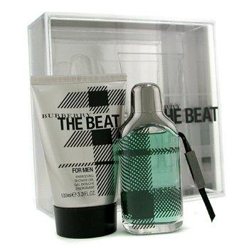 BurberryEstuche The Beat For Men: Eau De Toilette Spray 50ml/1.7oz +  Gel de Ducha 100ml/3.3oz 2pcs