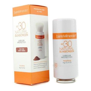 Bare Escentuals-BareMinerals Natural Sunscreen SPF 30 For Face & Body ( Tan Skin Tones )