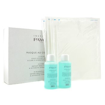 PayotMasque Au Collagene Set: 2x Soothing Lotion 200ml + 10x Collagen Sheet (Salon Size) 12pcs
