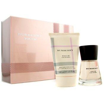 Burberry-Touch Coffret: Eau De Parfum Spray 50ml+ Perfumed Body Lotion 100ml ( With Pale Pink Box )