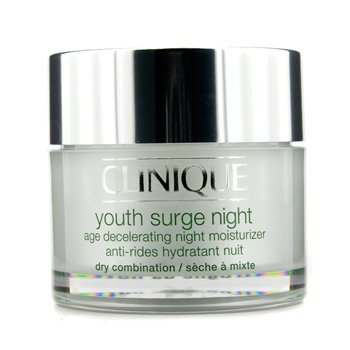 CliniqueYouth Surge Night Age Decelerating Night Moisturizer - Dry Combination 50ml/1.7oz