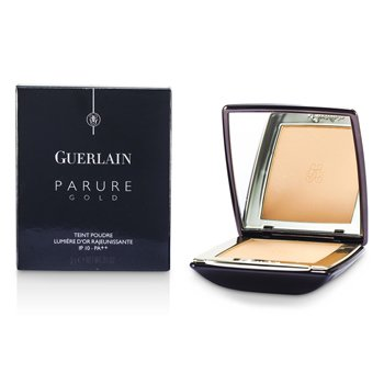 Guerlain-Parure Gold Rejuvenating Golden Radiance Powder Foundation SPF 10 - # 02 Beige Clair