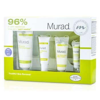 MuradResurgence Evening Renewal Regimen Kit 4pcs