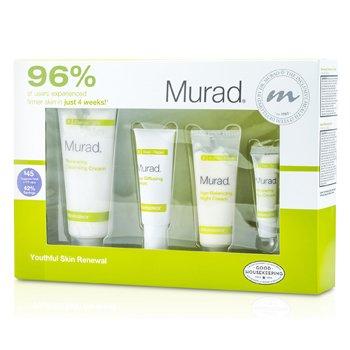 MuradResurgence Evening Renewal Regimen Kit 4pcs