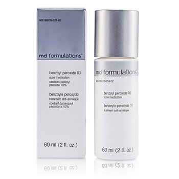MD Formulations Benzoyl Peroxide 10 60ml/2oz