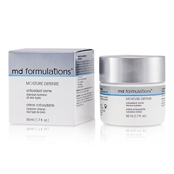 MD Formulations Moisture ( Pelembap ) Defense Antioxidant Krim ( Anti Oksidasi Kulit )  50ml/1.7oz