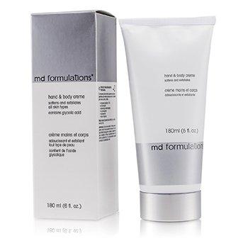 MD FormulationsHand & Body Creme 180ml/6oz