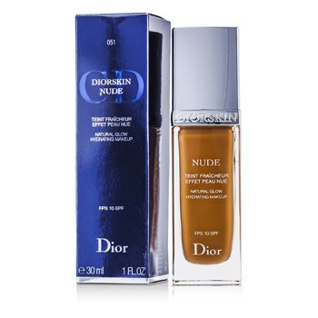 Christian Dior Diorskin Nude Natural Glow Hydrating Makeup SPF 10 - # 051 Dark Sand  30ml/1oz