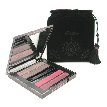 Guerlain-Guerlain Volga Princess Eyes and Lip Palette: 2x Lipstck + 2x Eyeshadow