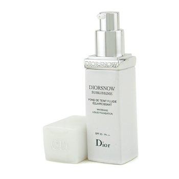 Christian Dior-DiorSnow Sublissime Whitening Liquid Foundation SPF 20 - No. 012 Porcelain