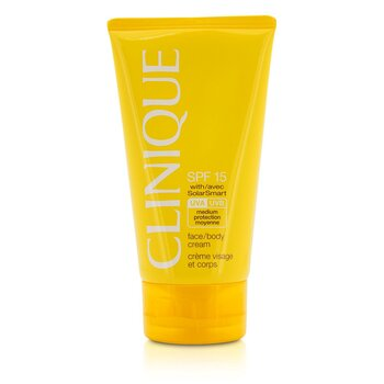 CliniqueFace / Body Cream SPF 15 UVA / UVB 150ml/5oz