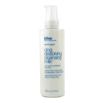BlissClog Dissolving Cleansing Milk 200ml/6.7oz