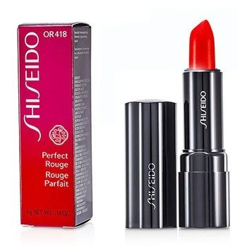 Shiseido Perfect Rouge Pintalabios - OR418 Day Lily  4g/0.14oz