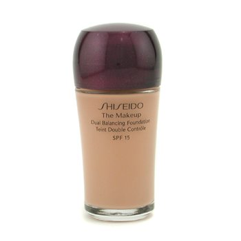 Shiseido-The Makeup Dual Balancing Foundation SPF17 - B60 Natural Deep Beige